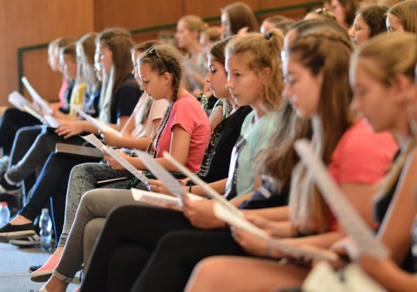 Life satisfaction in a girls' choir